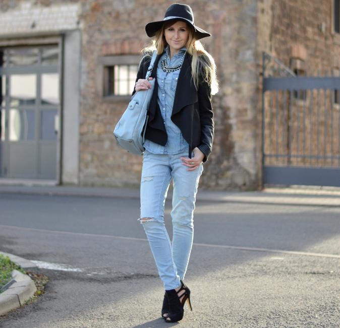Maracujabluete-Fashionblogger-Modeblog-Mannheim-Jeans-Denim-Streetstyle-2 - Kopie
