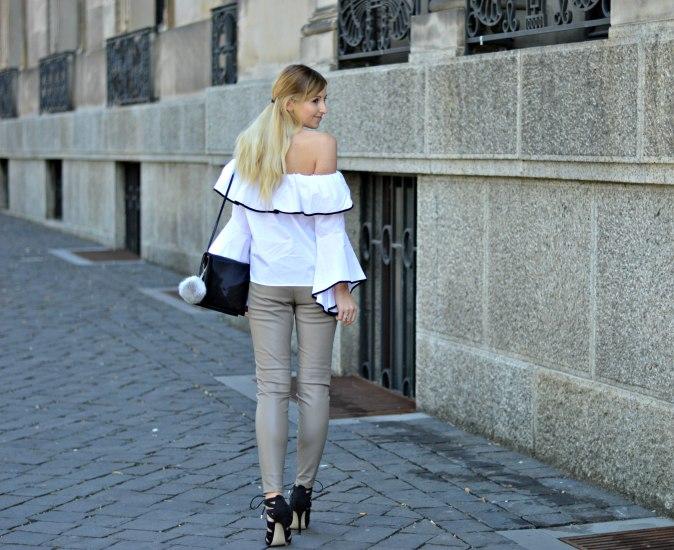 Maracujabluete-Fashionblog-Modeblogger-Mainz-Frankfurt-Outfit-Volant-Bluse-Zara-Lederpants-5