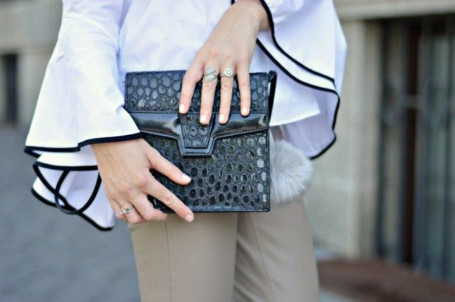 Maracujabluete-Fashionblog-Modeblogger-Mainz-Frankfurt-Outfit-Volant-Bluse-Zara-Lederpants-8