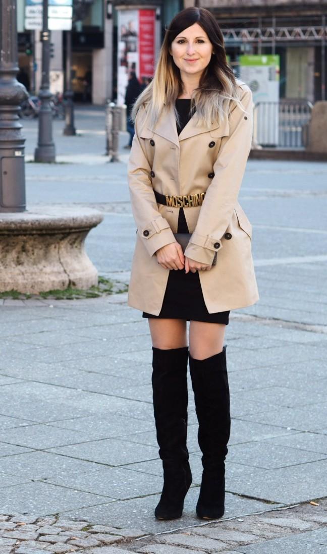 Maracujabluete-Fashionblog-Frankfurt-Mainz-Wiesbaden-Streetstyle-Winteroutfit-Trenchcoat-Love-Moschino-1