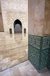 Poster Die Al-Hassan-II.-Moschee - © William Sutton, Danita Delimont