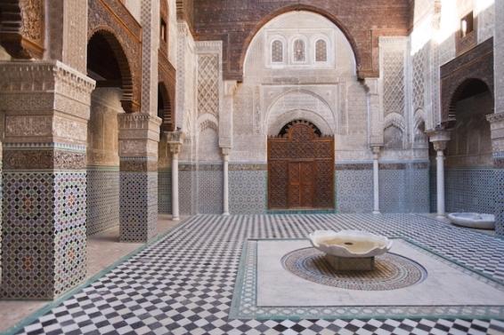 Poster Medersa Attarine, Marokko - © Marco Cristofori, Robert Harding