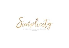 Poster SIMPLICITY - © Stephanie Wünsche
