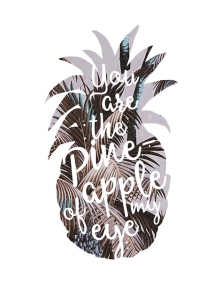 Poster Ananas Typo - © Nory Glory Prints