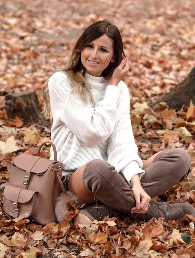 Maracujabluete-Fashionblog-Frankfurt-Herbst-Outfit-Knitwear-Strickpulli-Rucksack-3
