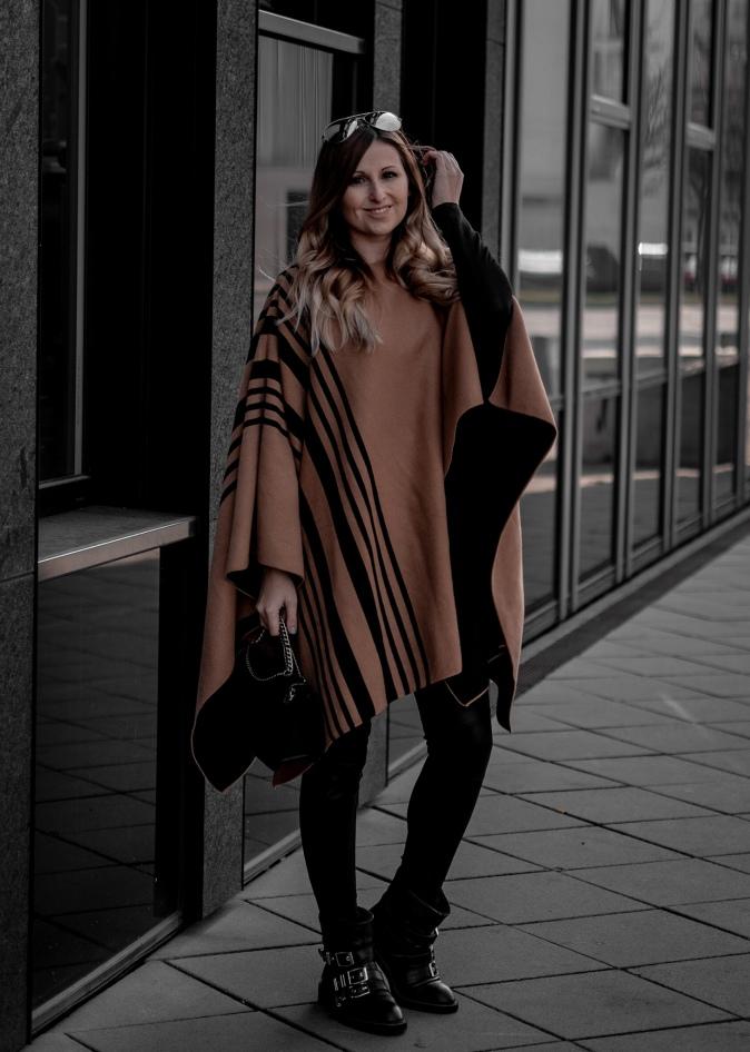 Maracujabluete Fashionblog Streetstyle Ootd Frankfurt Poncho Frühling-16