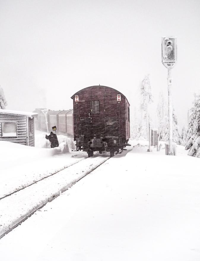 Reisetipps Harz Nationalpark Brockenbahn Winter