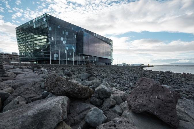 Maracujabluete Reiseblog Reykjavik Harpa