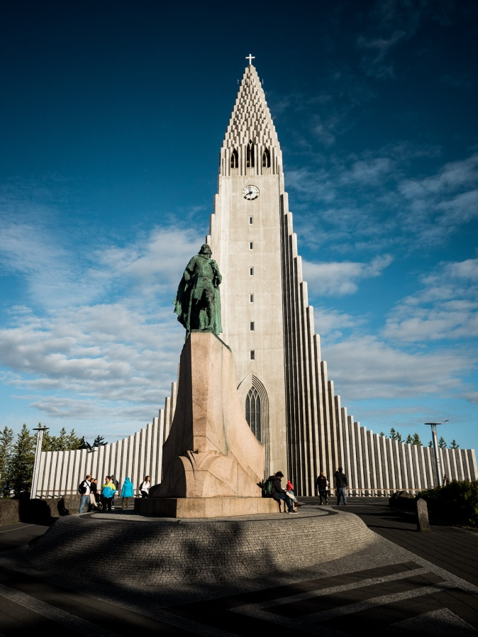 Maracujabluete Reiseblog Reisebericht Reykjavik Hallgrimskirkja